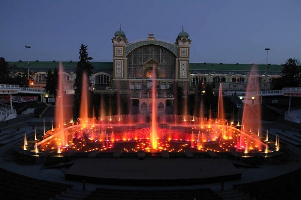 Фонтаны в Праге