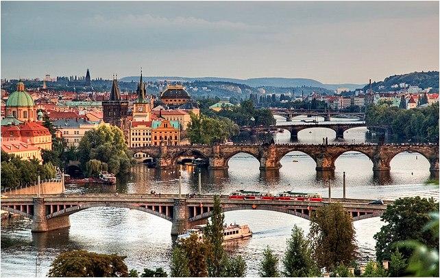 Мосты реки Влтавы