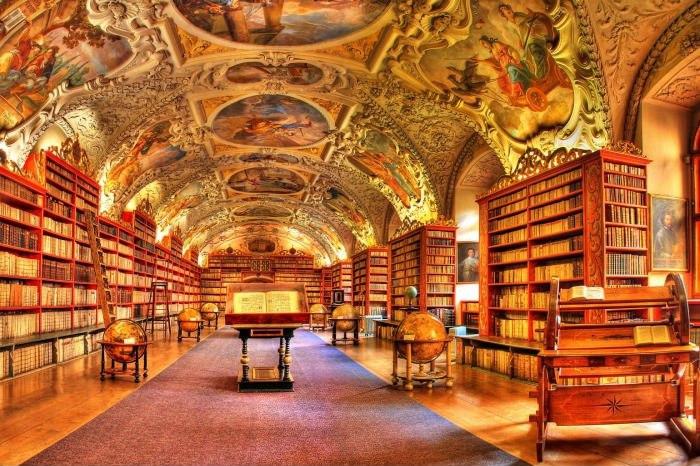 Главная государственная библиотека Чехии, Прага