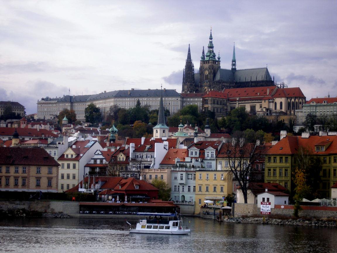 Прага город