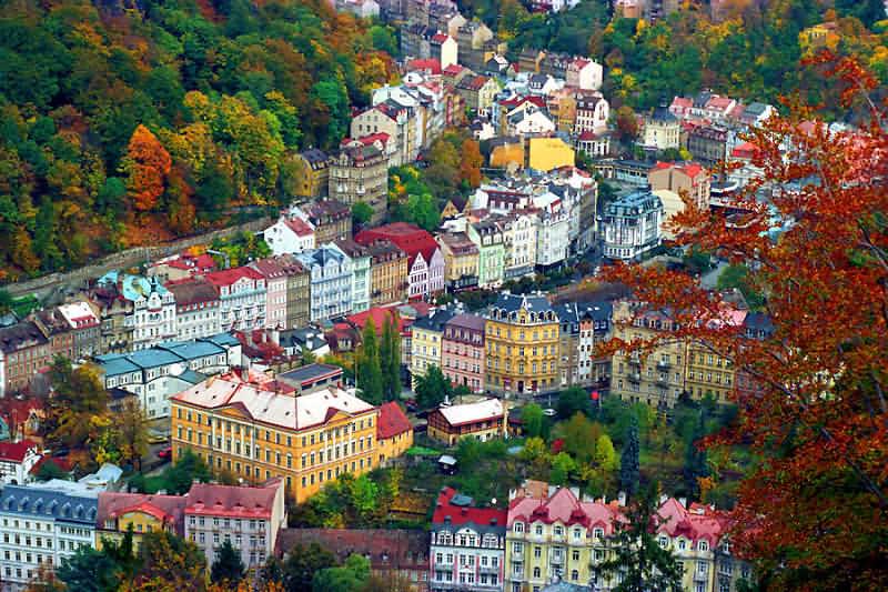 Курорты Чехии