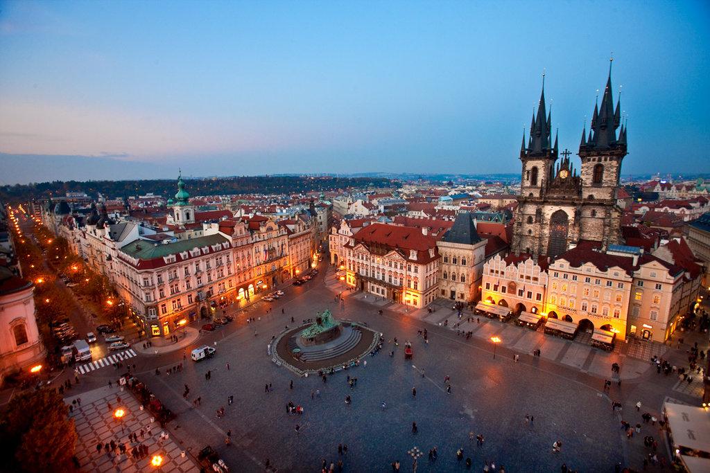 Прага Достопримечательность