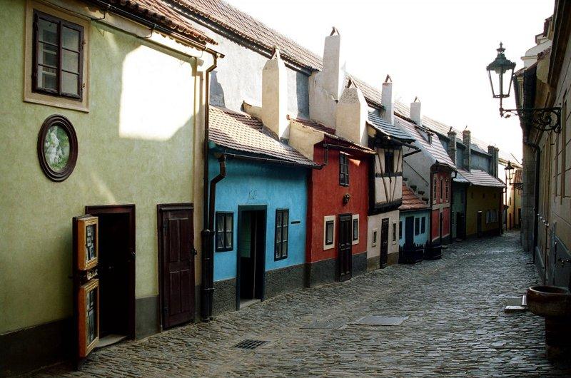 Злата улица Прага