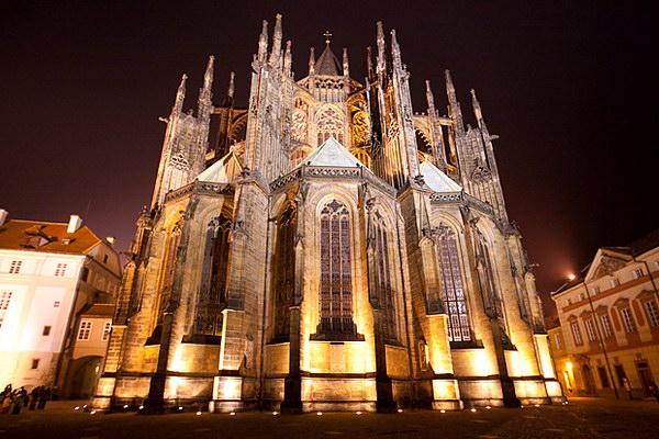 Прага архитектурные стили