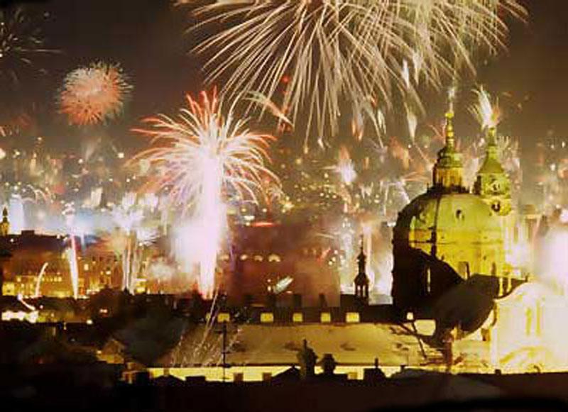 Прага новый год