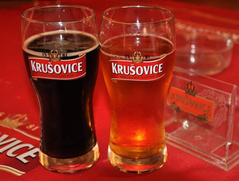 Чешское пиво в Праге2