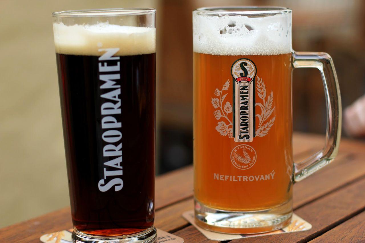 Чешское пиво в Праге3