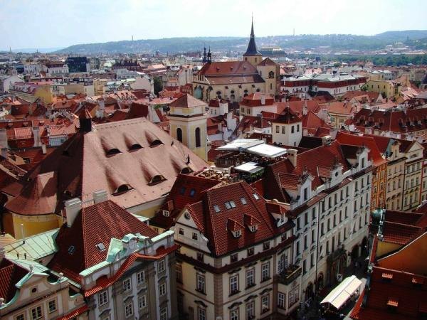 Прогулки по Праге. Старый город