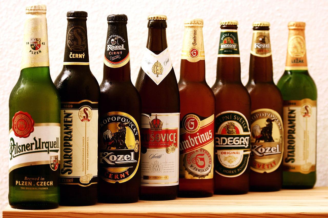 Чешское пиво, Прага