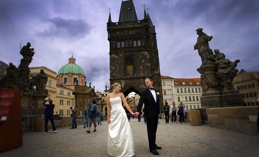 Прага город романтики