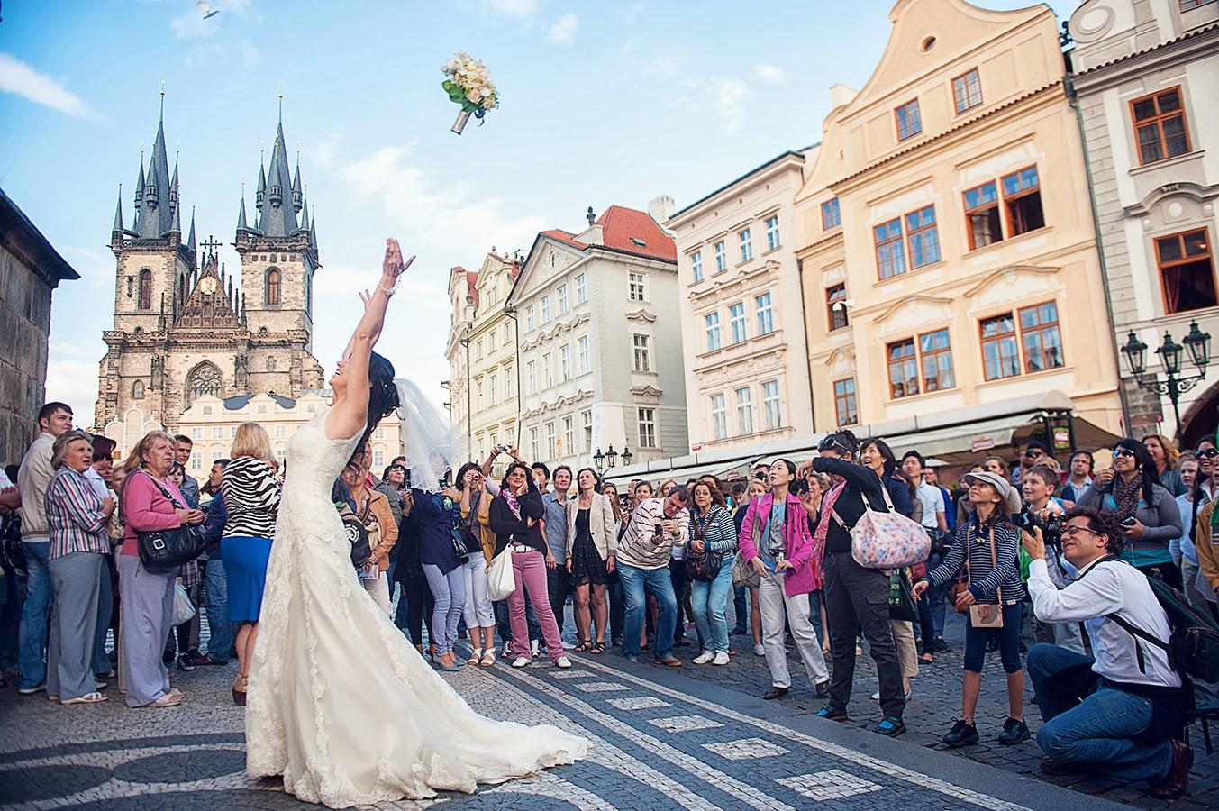 Прага свадьба в ратуше 7