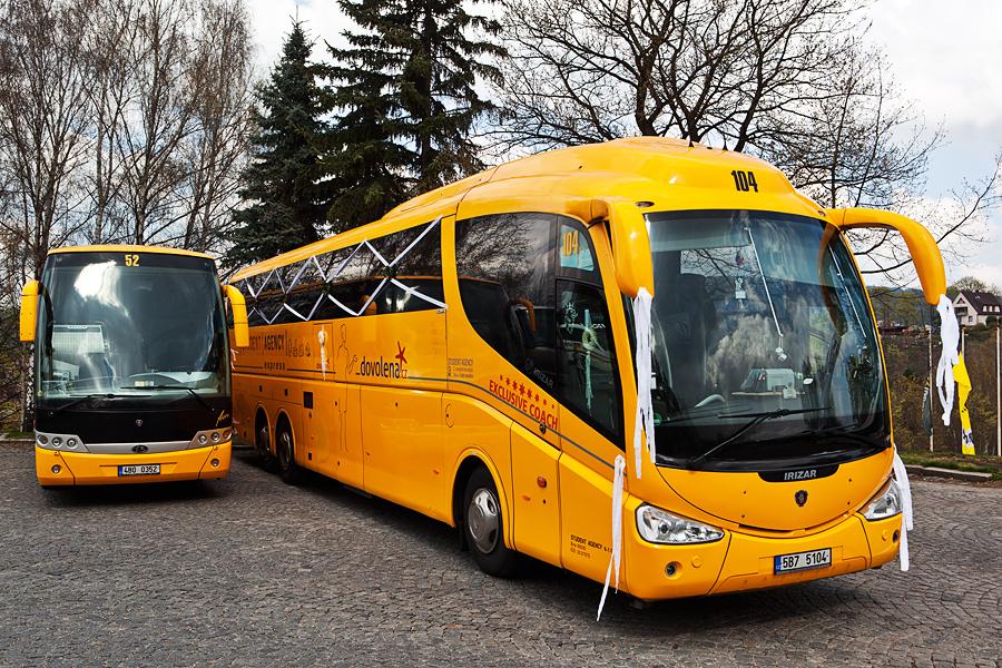 Автобусы в Чехии