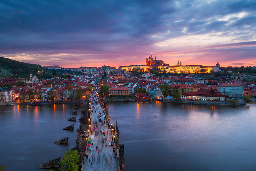 Левый берег Праги