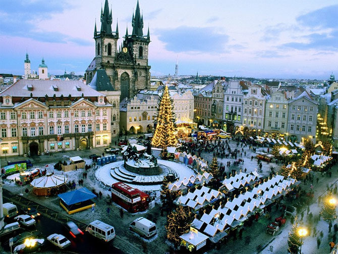 Чехия. Новый год превращается в сказку!