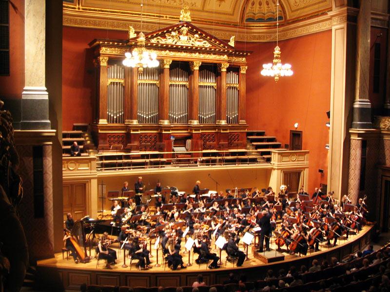 Прага город музыки