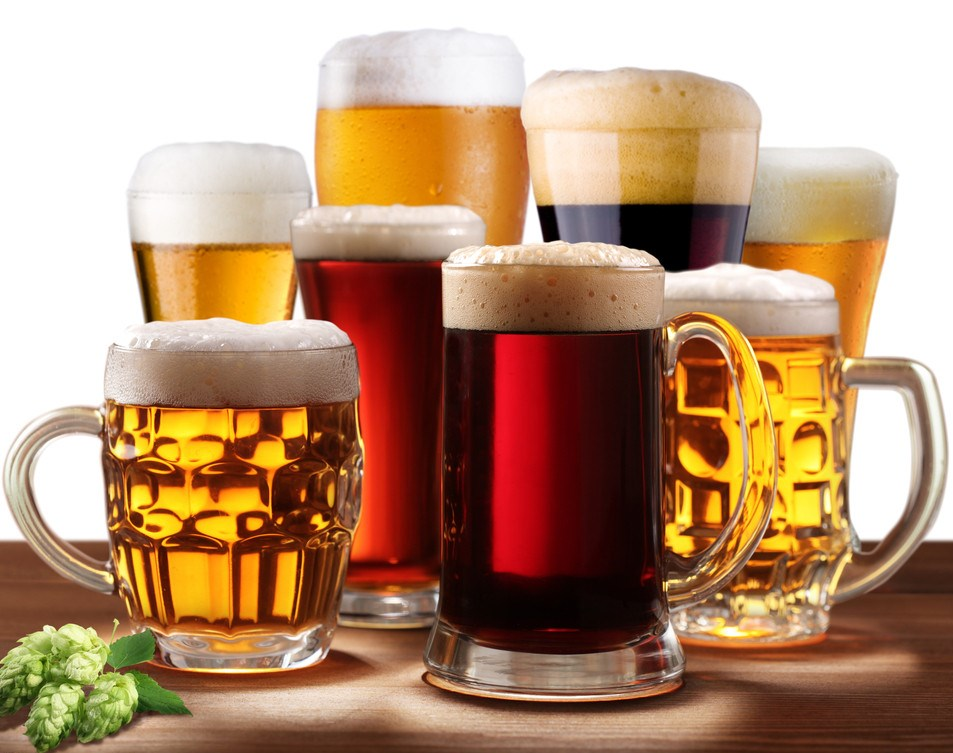 Прага город пива