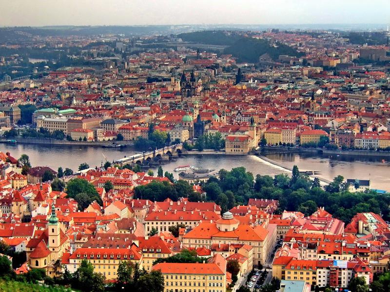 Прага город ста шпилей
