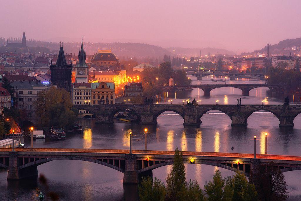 Прогулки по Злата Праге