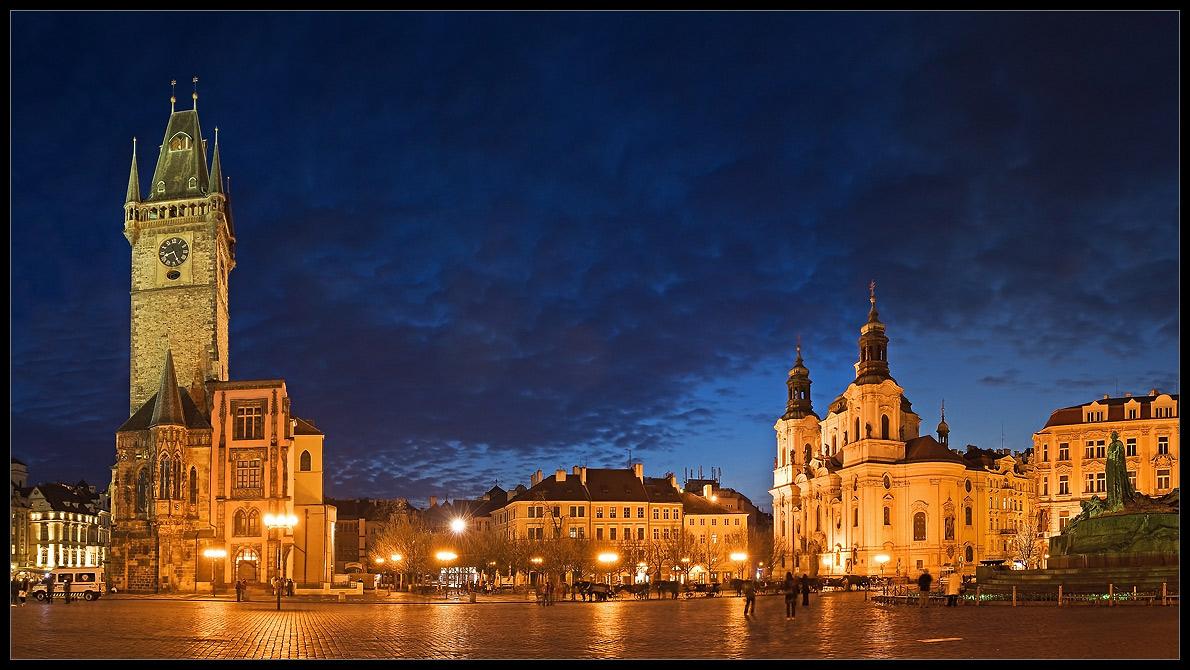 Злата Прага вечер