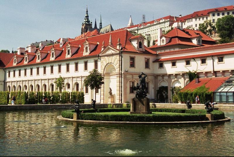 Злата Прага фонтан
