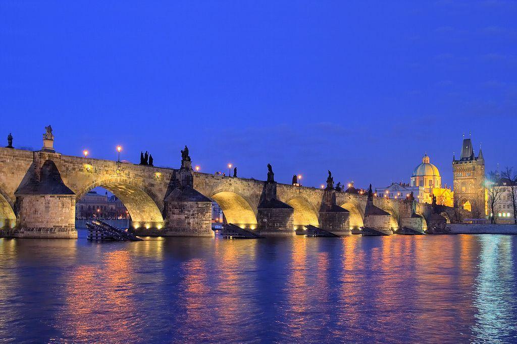 Карлов мост Чехия, Прага