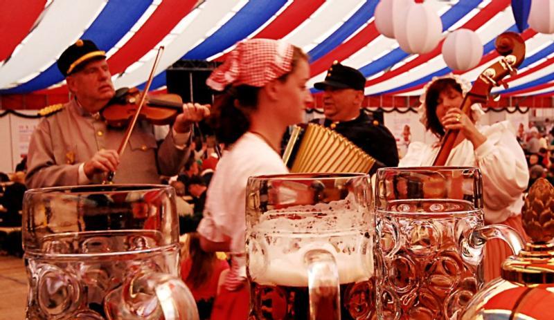 Прага пивной фестиваль