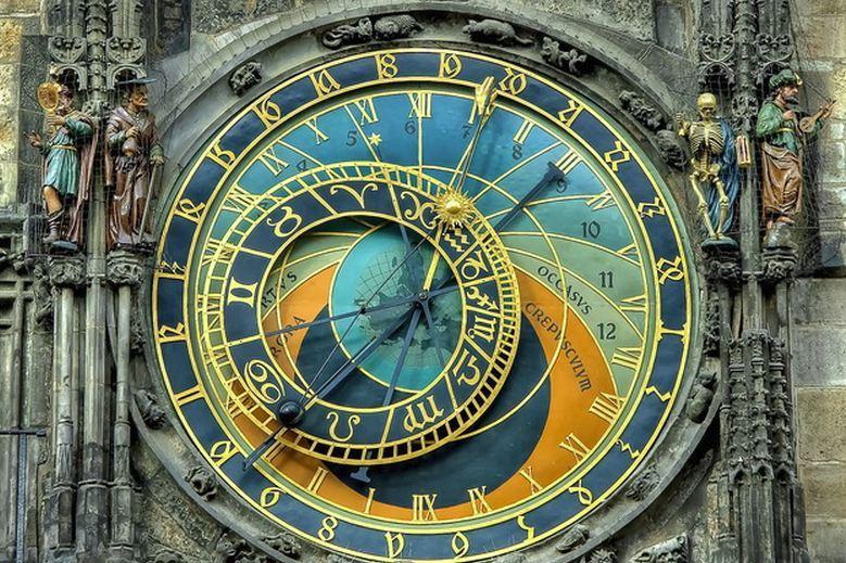 Прага: астрономические часы Орлой