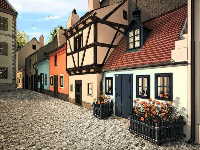 Злата уличка в Праге
